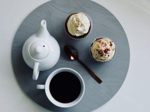 Kaffe och muffins